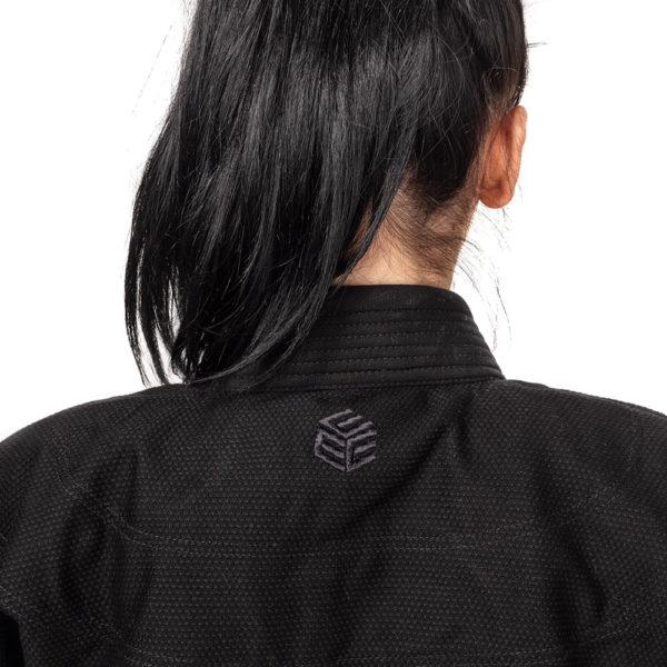 tatami bjj gi ladies estilo black label black black 15