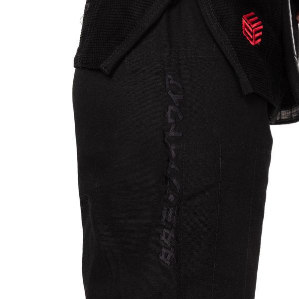 tatami bjj gi ladies estilo black label black red 12