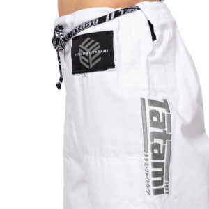 tatami bjj gi ladies estilo black label white grey 14