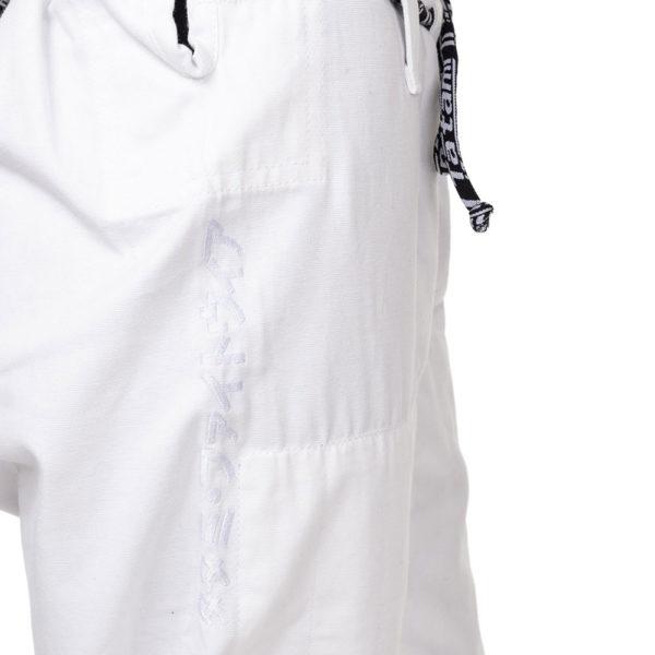 tatami bjj gi ladies estilo black label white grey 16