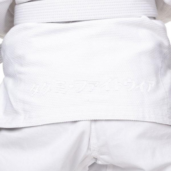 tatami bjj gi ladies estilo black label white grey 8