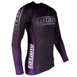tatami ibjjf rashguard purple side
