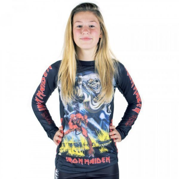 Tatami x Iron Maiden Ladies Rashguard Number of the Beast