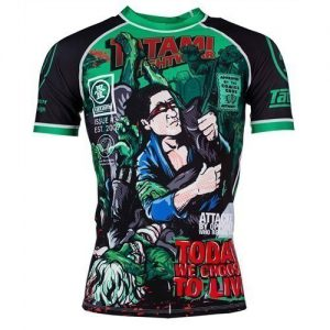 Tatami Rashguard The Zombie Hunter